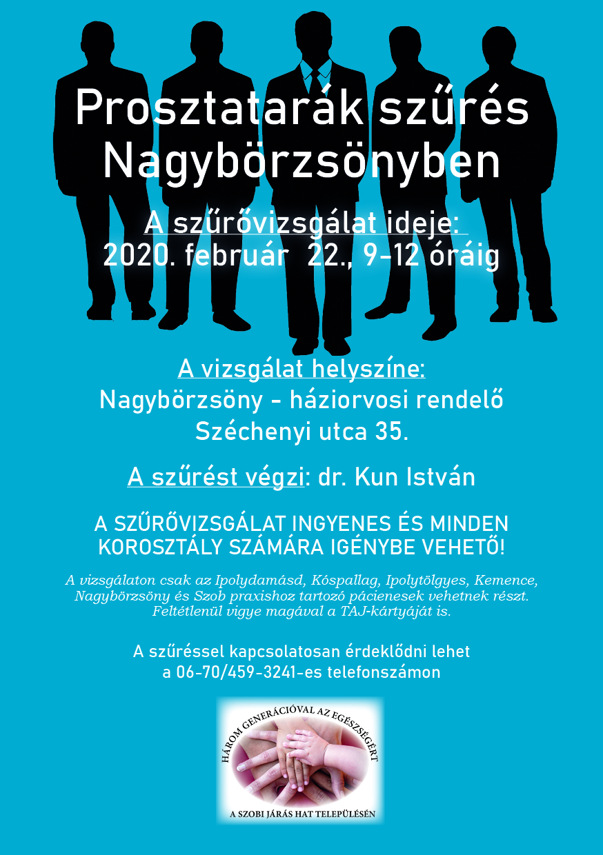 prosztatarák szűrés ingyenes 2021